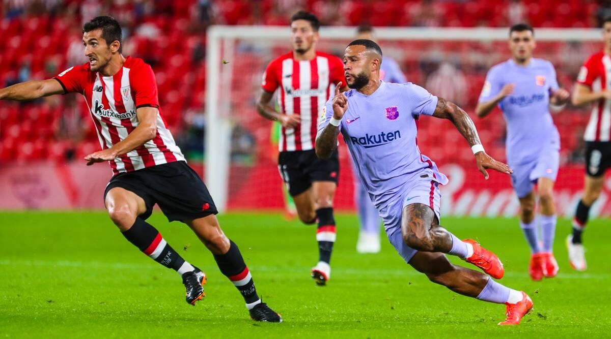 La Liga: el primer gol de Memphis Depay para el Barcelona gana el empate en Bilbao