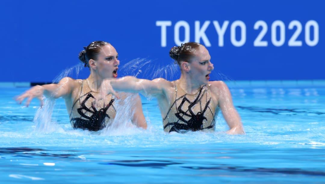 Lo más destacado de la natación artística en los Juegos Olímpicos de Tokio 2020