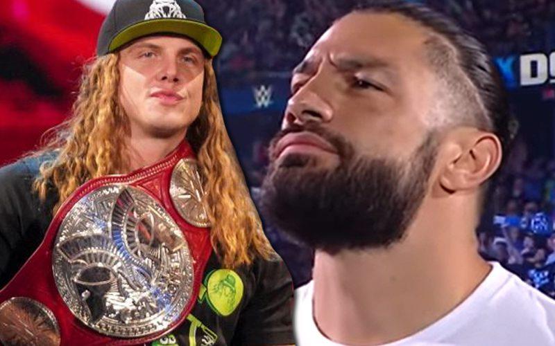 Matt Riddle tiene calor en WWE por comentarios sobre Roman Reigns