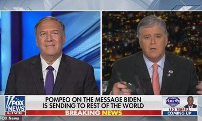 Mike Pompeo apareció en el programa Fox News de Sean Hannity el lunes por la noche para discutir la respuesta de la administración de Biden a los eventos internacionales.