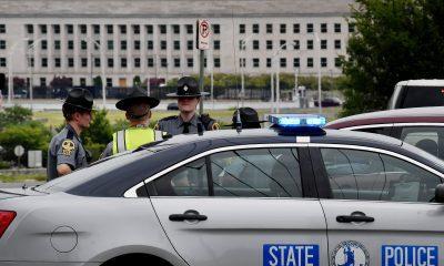 Oficial de policía del Pentágono muere apuñalado afuera de la entrada del metro, asaltante muerto a tiros