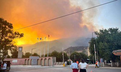 Planta de energía en Turquía evacuada cuando se acerca un incendio forestal