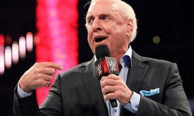 Ric Flair ya no tiene contrato con WWE