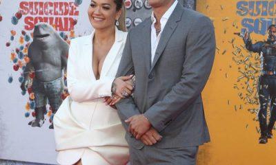 Rita Ora y Taika Waititi hacen público su romance en el estreno de The Suicide Squad