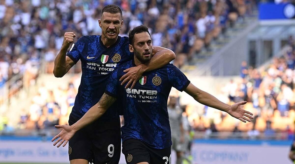 Serie A: Hakan Calhanoglu protagoniza el Inter anota cuatro goles ante Génova en la apertura de la temporada