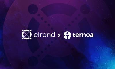 Ternoa amplía la compatibilidad de NFT Time Capsules al asociarse con Elrond