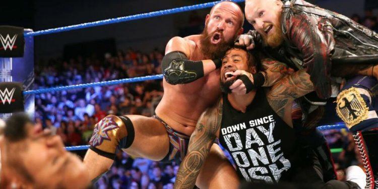 Alexander Wolfe dice que WWE hizo 'promesas vacías' cuando SAnitY debutó en SmackDown en 2016
