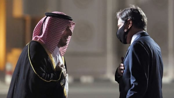 Blinken en Doha para conversaciones sobre crisis afganas con Qatar
