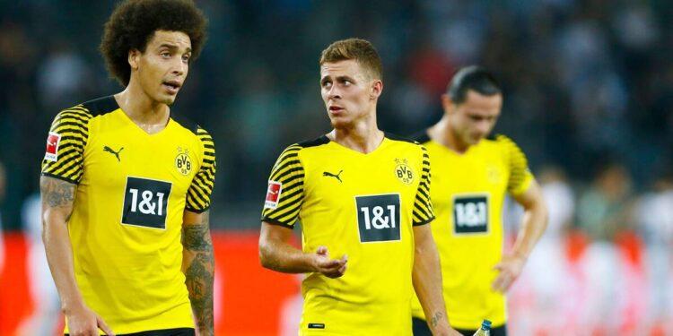 Bundesliga: Dortmund se desploma para derrotar en Gladbach sin Haaland y Reus