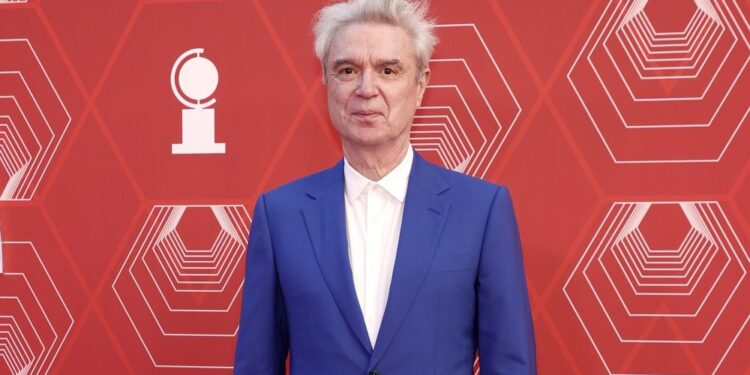 David Byrne honrado con el premio Tony especial por 'American Utopia'