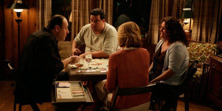 'Sopranos Home Movies' James Gandolfini as Tony Soprano; Steve Schirripa as Bobby 'Bacala' Baccalieri; Edie Falco as Carmela Soprano; Aida Turturro as Janice Soprano Baccalieri
