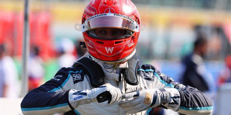 George Russell admite que hizo que Monza iniciara el sprint 'mal'