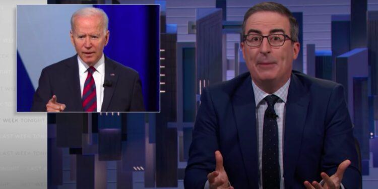 John Oliver le dice a Joe Biden que 'detenga a F-king y arregle' la supresión de votantes