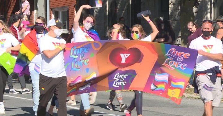 Kingston celebra el primer desfile del Orgullo en persona desde que comenzó la pandemia - Kingston