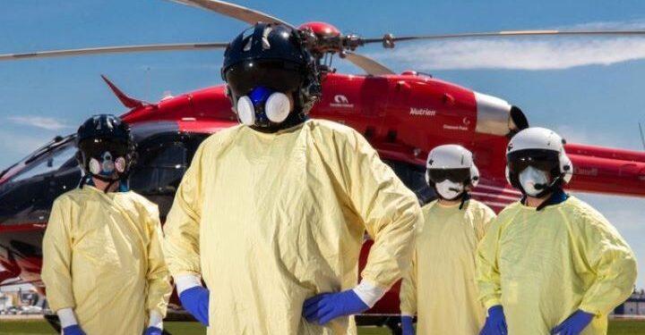 La fatiga de la cuarta ola de COVID-19 se convierte en un factor para los equipos de ambulancia aérea STARS de Alberta