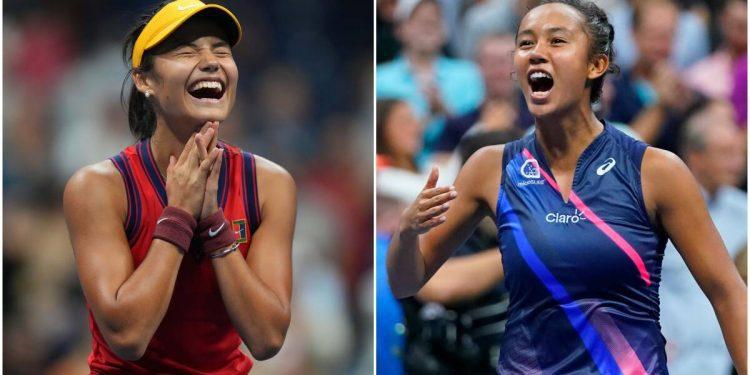 Leylah Fernandez y Emma Raducanu roban algo de atención en Grand Slam