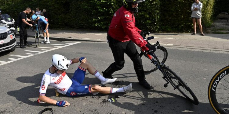 Los accidentes marcan el Mundial de Ethan Hayter dejando la sensación de 'oportunidad perdida'