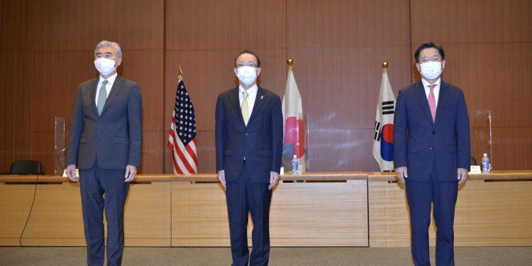 Los enviados nucleares de EE. UU., Japón y Corea del Sur se reúnen después de la prueba de Pyongyang