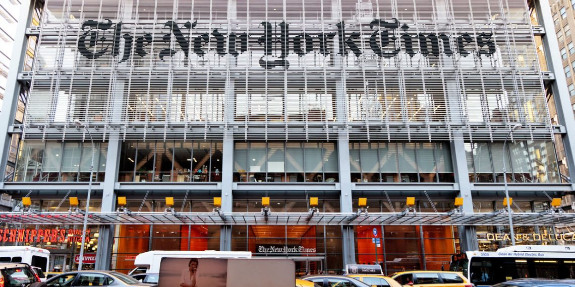 Pundits Rage about 'Skewed' New York Times Crypto-DeFi Front Page