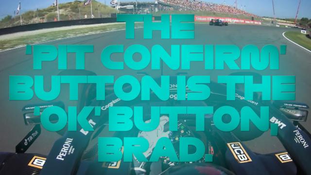 MIRAR: ¿Decir qué?  De la confusión de botones de Stroll a la alegría de Verstappen: la mejor radio de equipo de Zandvoort