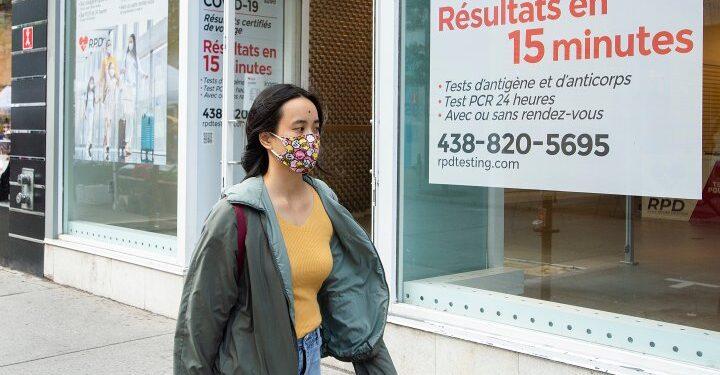Quebec reporta 719 nuevos casos de COVID-19, el 70% de los cuales están vacunados inadecuadamente - Montreal