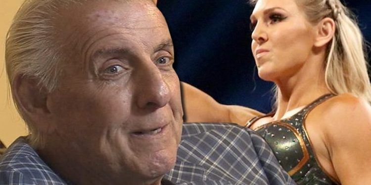 Ric Flair felicita a Charlotte Flair por su enorme logro en la WWE