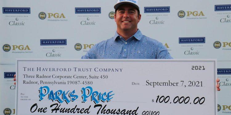 Un torneo.  Un día.  Un putt.  Cómo este profesional de golf de Pensilvania ganó $ 100,000