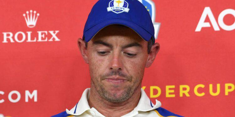 Ver: Rory McIlroy se pone lloroso después de la derrota de la Ryder Cup de Europa