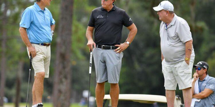 ¿Cómo es Phil Mickelson el primer gran ganador reinante en jugar PGA Tour Champions?  'Es solo matemáticas'.