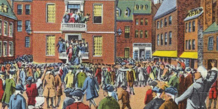 A medida que sonaba la independencia de Estados Unidos, un bloqueo generalizado y vacunas masivas combatieron un brote de viruela.