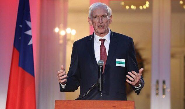 James Moriarty, el máximo diplomático de Estados Unidos en Taiwán, advirtió que China representa una 'amenaza real e inmediata' para la isla.