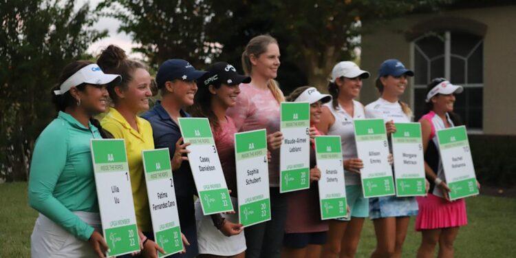 Conozca a los 10 graduados del Symetra Tour que obtuvieron tarjetas LPGA para 2022