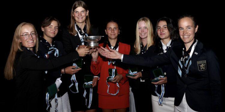 Continent of Europe gana el Trofeo Junior Vagliano - Golf News |  Revista de golf