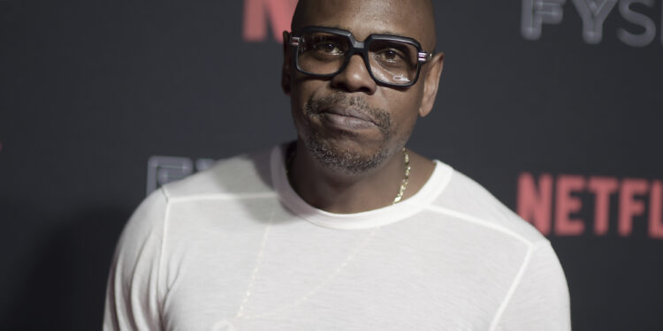 Dave Chappelle mocks cancel culture over his transphobic remarks in the closer
