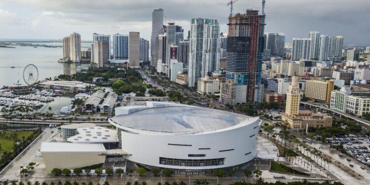 Centro de Miami.  EE. UU. Mayo de 2021