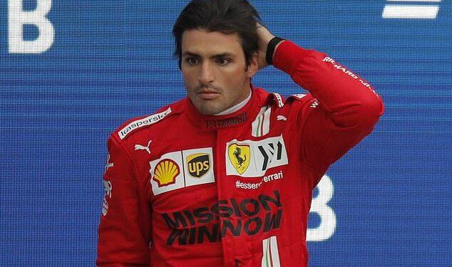 Carlos Sainz de Ferrari comenzará en la parte trasera de la parrilla para el Gran Premio de Turquía de este fin de semana