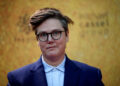 SYDNEY, AUSTRALIA - MARCH 27: Hannah Gadsby attends the Australian premiere of Hamilton at Lyric Theatre, Star City on March 27, 2021 in Sydney, Australia. (Photo by Don Arnold/WireImage)