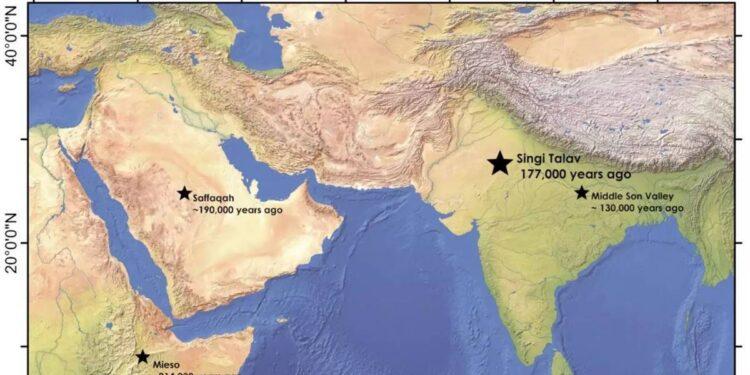 map archeo