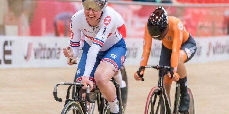 Katie Archibald se coronó campeona europea de scratch race en la primera carrera desde el éxito olímpico