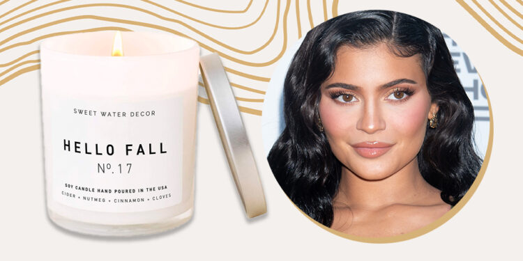 Kylie Jenner Is Ringing In Fall With This Affordable Candle From Amazon