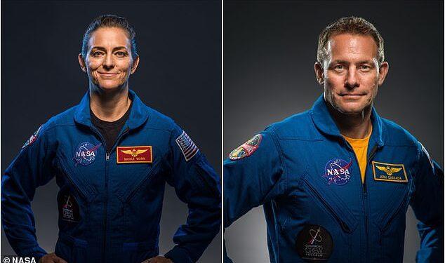 Los astronautas Nicole Mann (izquierda) y Josh Cassada (derecha) serán el comandante y piloto de la misión Crew-5 de la compañía ahora propiedad de Elon Musk en el otoño de 2022
