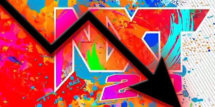 La audiencia de WWE NXT 2.0 sigue cayendo