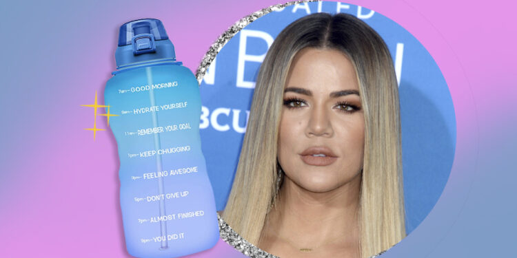 Khloé Kardashian's Fave Amazon Water Bottle Is On Sale For Under $15