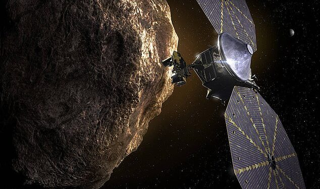 La misión Lucy de la NASA se lanzará esta semana, comenzando un viaje de 12 años a través del sistema solar que incluirá un paso de ocho asteroides diferentes en la órbita de Júpiter.