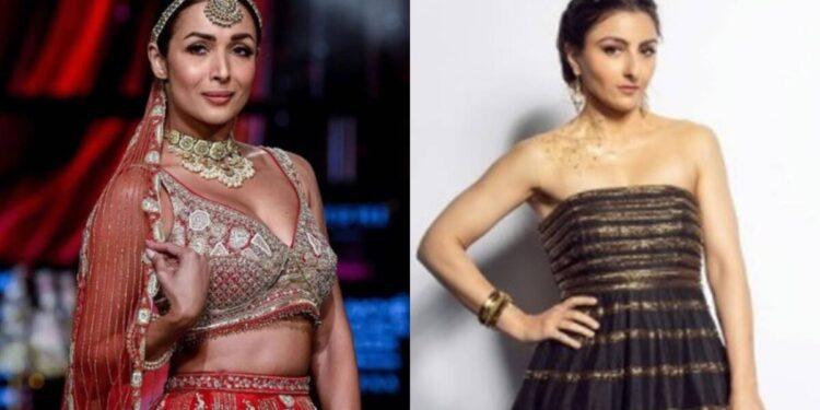 malaika arora, soha ali khan, lakme fashion week