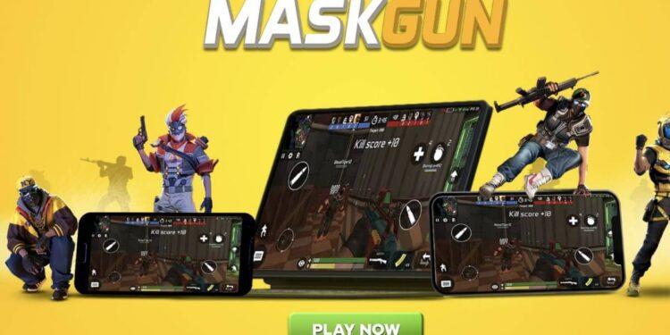 MaskGun, MaskGun downloads, MaskGun android, MaskGun 50 Million players, MaskGun iOS, MaskGun news
