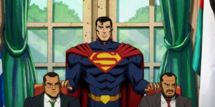 Mira este clip exclusivo de Superman destrozando cosas en injusticia
