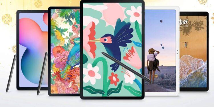 Samsung, Samsung festive offers, Flipkart Big Billion Days, Galaxy Tab S7+ offer, Galaxy Tab S7 FE offer, Galaxy Tab S6 Lite offer, Galaxy Tab A7 offer,