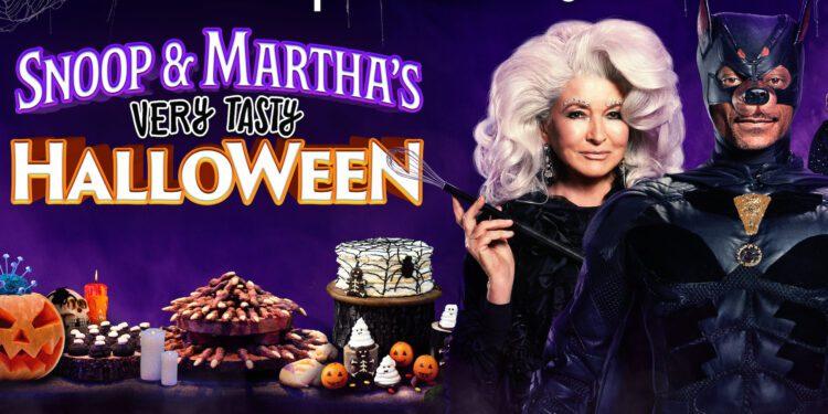 Snoop Dogg y Martha Stewart nos dan dolor de muelas con el programa de horneado de Halloween