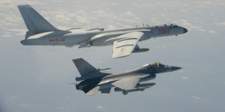Taiwán reporta la mayor incursión jamás realizada por la fuerza aérea china